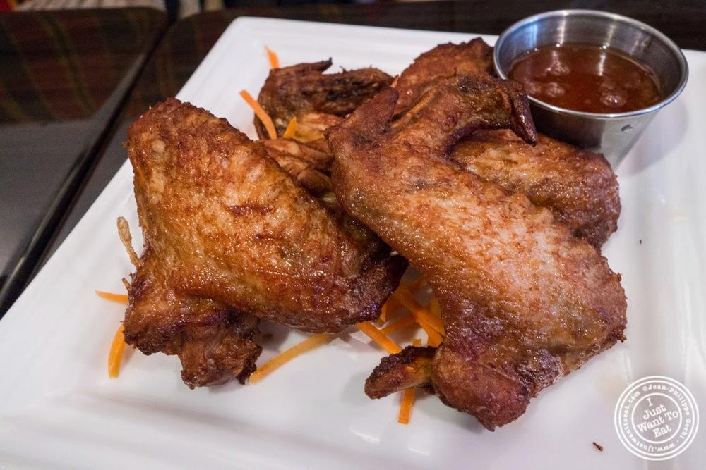 Peek Kai Tod at Larb Ubol, Thai restaurant in Hell's Kitchen, NYC, New ...
