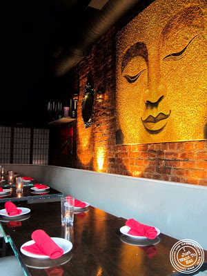 image of Glow Thai restaurant and lounge in Bay Ridge Brooklyn, New York