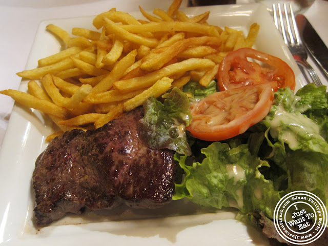 Image of Steak frites at Le Franc-Tireur in Paris, France