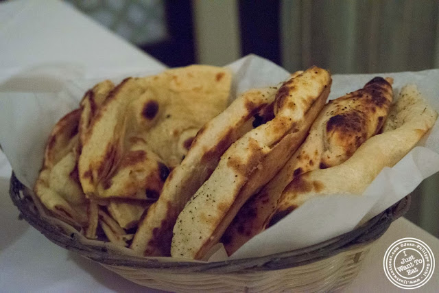 image of naan and parantha at Tulsi, Indian restaurant in Midtown East, NYC, New York