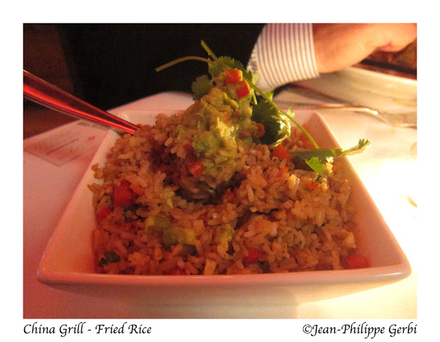 image of fried rice at China Grill, midtown, NYC, New York