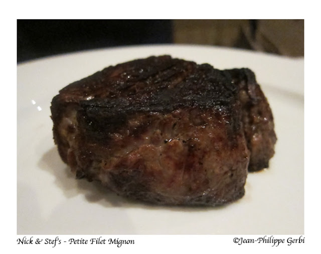 Image of Petite filet mignon at Nick and Stef's steakhouse in NYC, New York