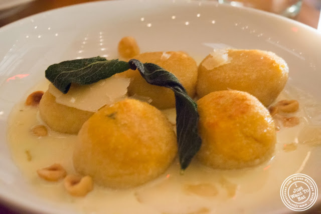 image of butternut squash nudi at Kingside in NYC, New York