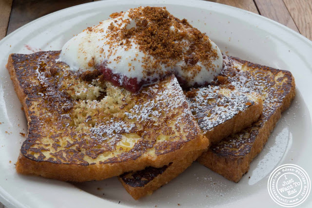 Image of Tres Leches French toast at Sunshine Co in Brooklyn, New York