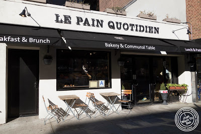 image of Le Pain Quotidien in NYC, New York