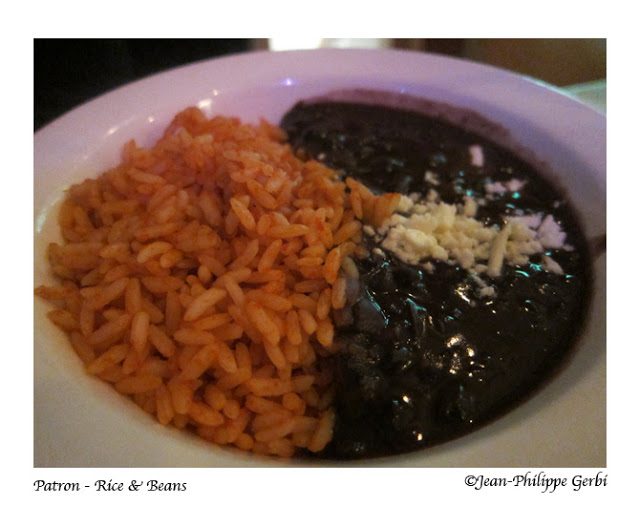 Image of Rice and beans at Patron Mexican Grill in NYC, New York