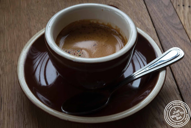 Image of espresso at Sunshine Co in Brooklyn, New York