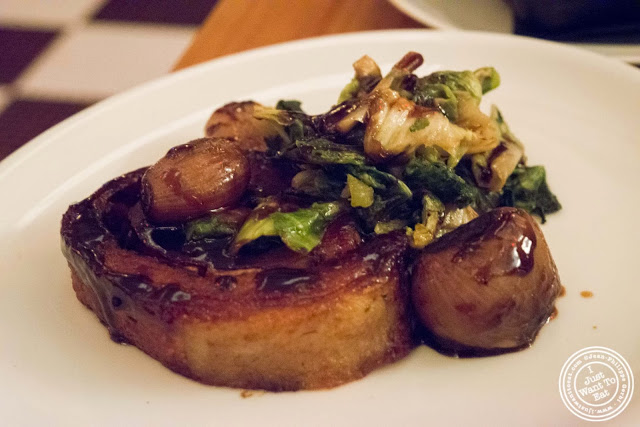 image of Pork belly at Kingside in NYC, New York