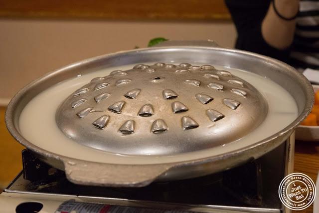 image of Bulgogi BBQ at Kunjip Korean restaurant  in NYC, New York