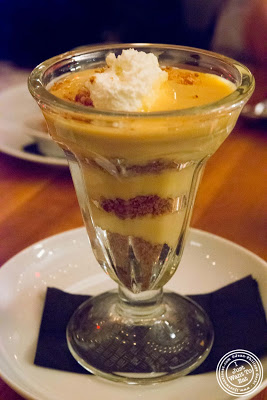 image of caramel pudding at Kingside in NYC, New York
