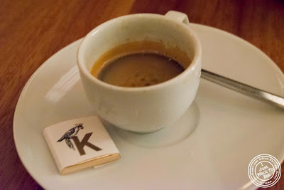 image of espresso at Kingside in NYC, New York