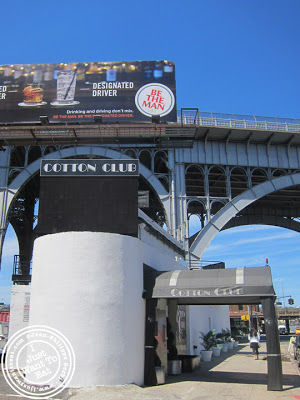 Image of Cotton Club on the way to Dinosaur BBQ in Harlem NYC, New York