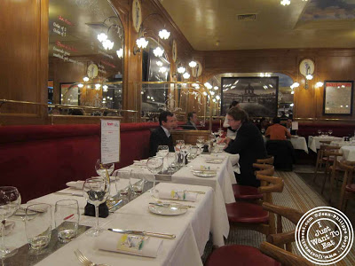 Image of Dining room of Benoit - NYC, New York - Alain Ducasse