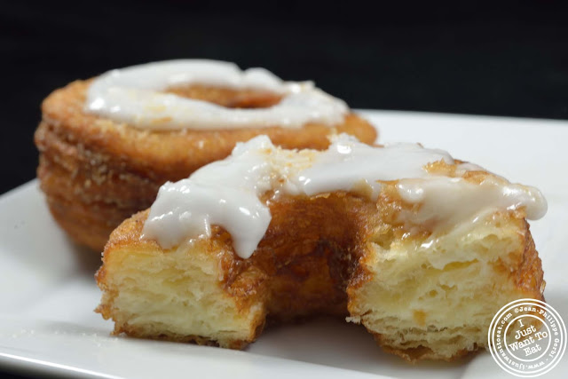 image of Cronut from Chef Dominique Ansel Bakery, NYC, New York