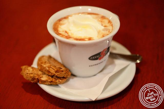 Image of Hazelnut hot chocolate at Otto Enoteca Pizzeria in NYC, New York - Mario Batali