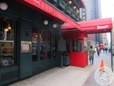 Image of Street view of  Benoit - NYC, New York - Alain Ducasse