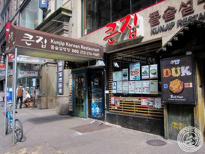image of Kunjip Korean restaurant  in NYC, New York