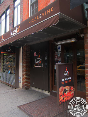 Image of the Entrance of Keste Pizza and Vino in NYC, New York