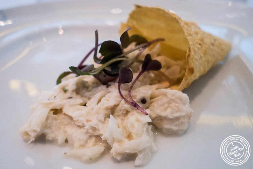 image of crab nazakat at Tamarind, Indian cuisine, in Tribeca, NYC, New York