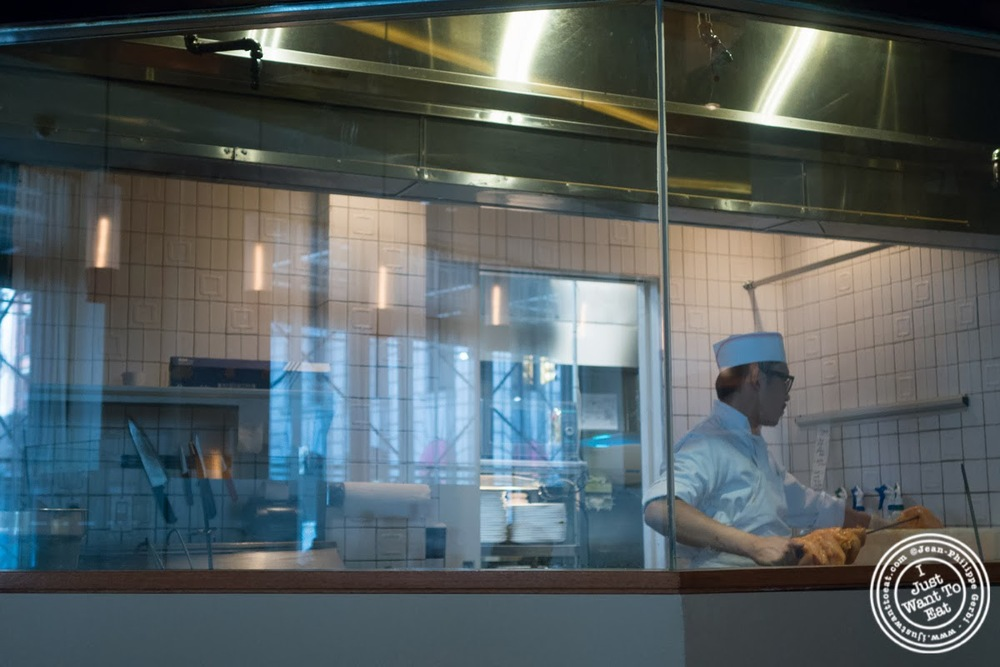 image of open kitchen at Tamarind, Indian cuisine, in Tribeca, NYC, New York