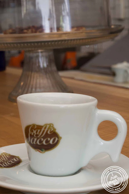 Image of espresso at Little Fox Cafe in Chinatown, NYC, New York