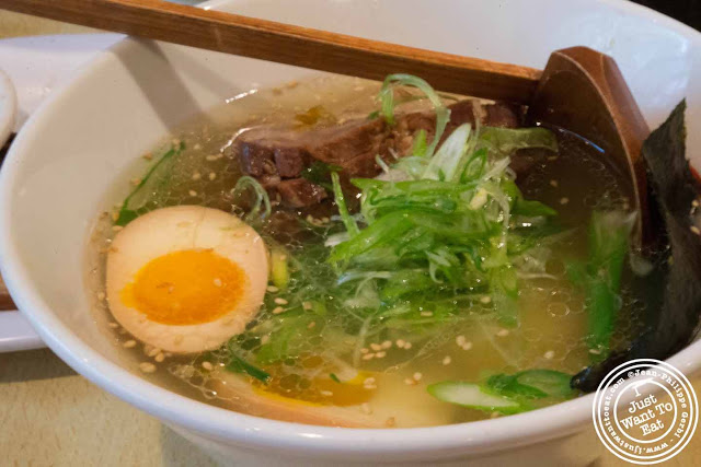 Image of Shio ramen at Sapporo Ramen in NYC, New York