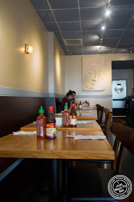 dining room at Pho Nomenon in Hoboken, NJ