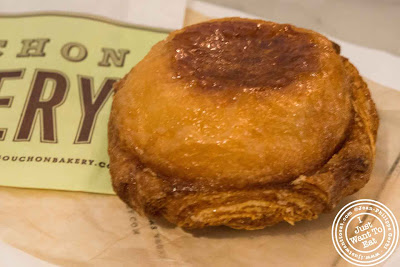 Image of Kouign Amman from Bouchon Bakery in NYC, New York