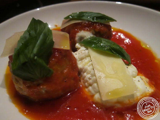 Image of Veal Meatballs at Casa Nonna in Hell's Kitchen NYC, New York