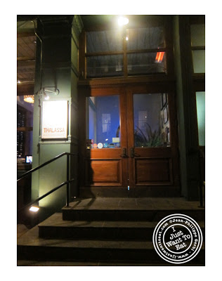 Image of Thalassa Greek Restaurant in Tribeca, NYC, New York
