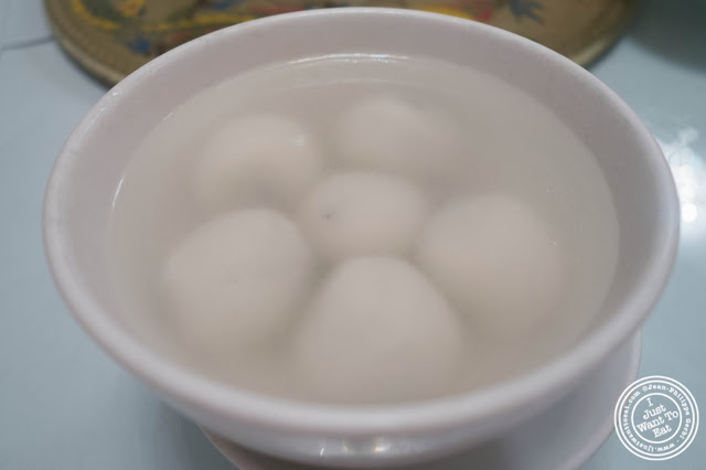 image of Tang Yuan dessert at Szechuan Gourmet in Midtown West, NYC, New York