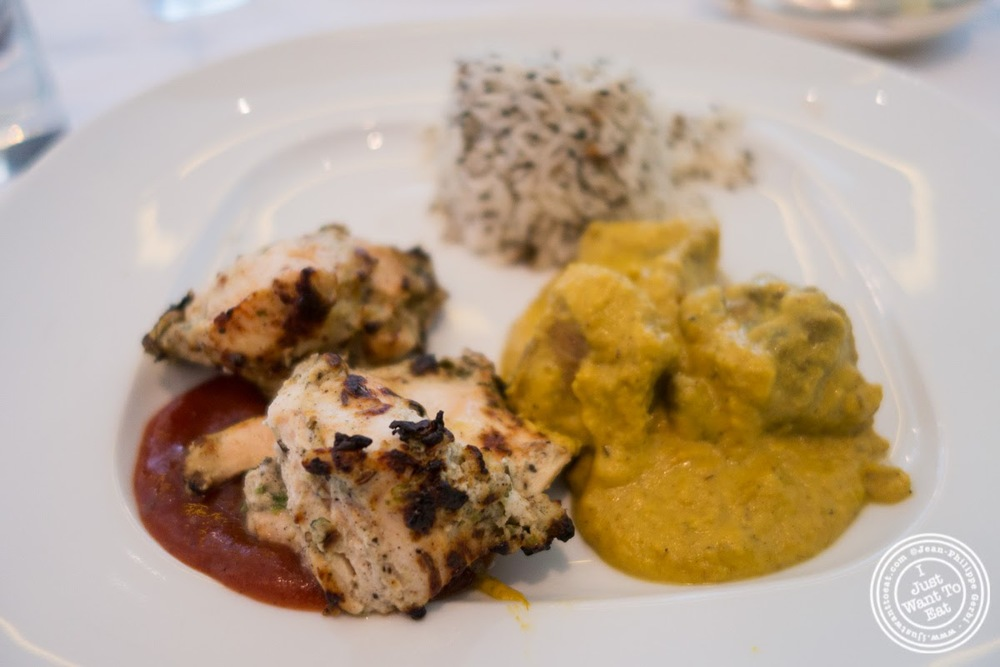 image of Murg Kali Mirch and Taar Korma at Tamarind, Indian cuisine, in Tribeca, NYC, New York