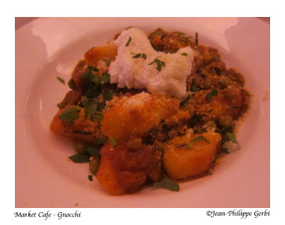 Image of Gnocchi at Market Cafe in NYC, New York