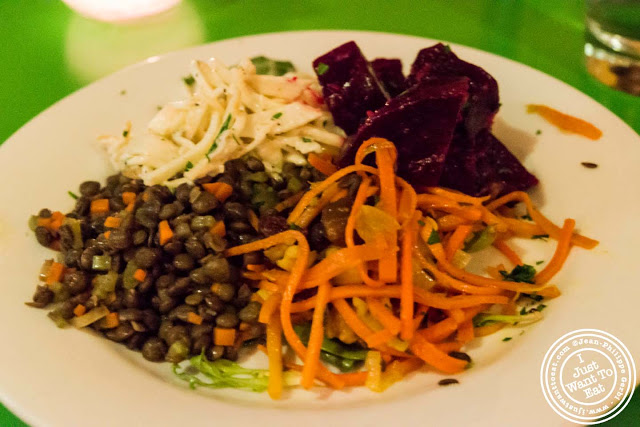 Image of Salads or plat froid at Table Verte in the East Village, NYC, New York