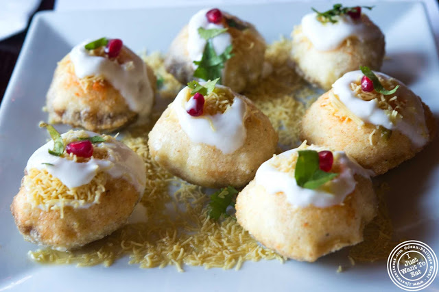 image of Dahi puri at The Masala Wala in NYC, New York
