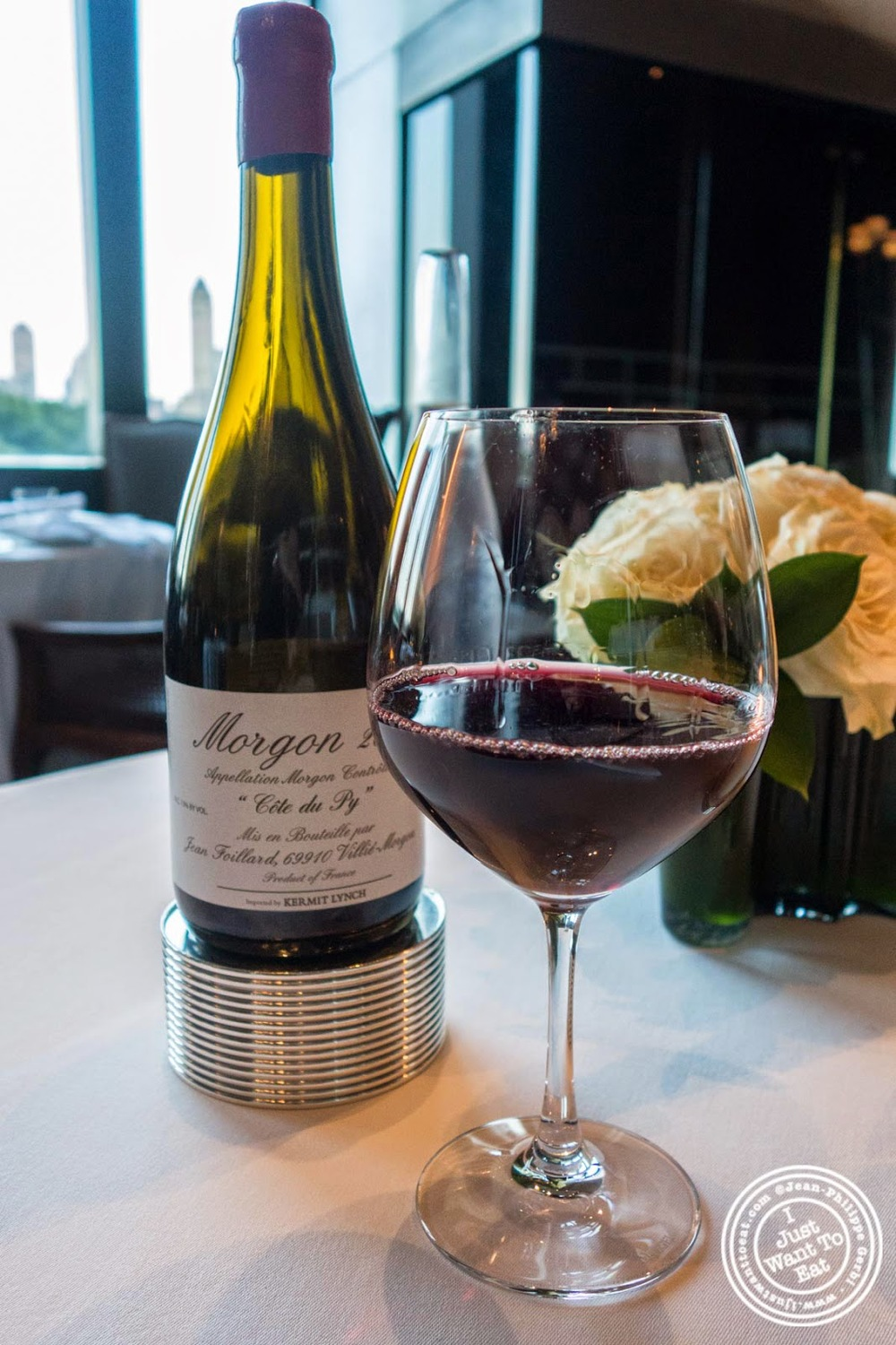 Jean Foillard Morgon Côte du Py, 2012 at Per Se in New York, NY