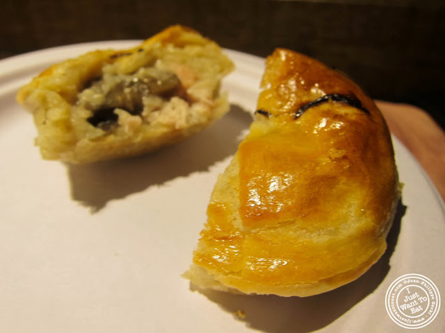 image of chicken and mushroom pie at Pie Face in Chelsea, New York