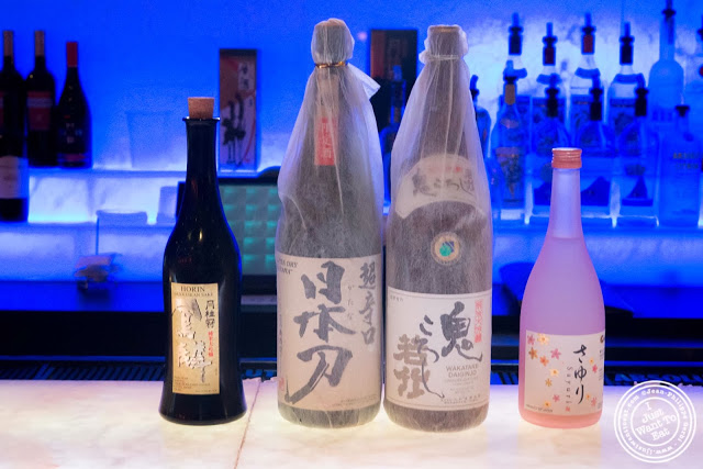 image of Sake at Aji 53, Japanese restaurant in Brooklyn, New York