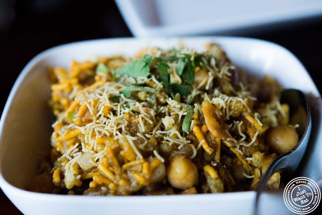 image of Bhel puri at The Masala Wala in NYC, New York