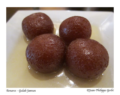 Image of Gulab Jamun at Benares in NYC, New York
