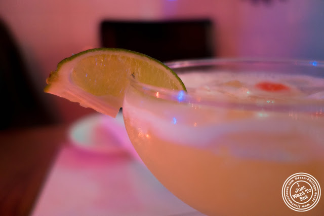 image of Mango margarita at El Maguey Y La Tuna on the Lower East Side, NYC, New York