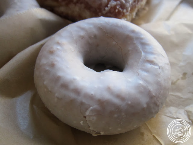 image of tres leches donut at Doughnut Plant in NYC, New York
