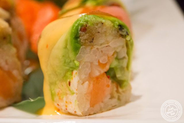 image of okinawa roll at Aji 53, Japanese restaurant in Brooklyn, New York