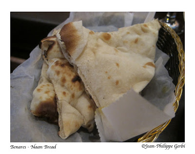 Image of Naan Bread at Benares in NYC, New York