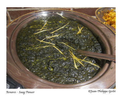 Image of Saag Paneer at Benares in NYC, New York