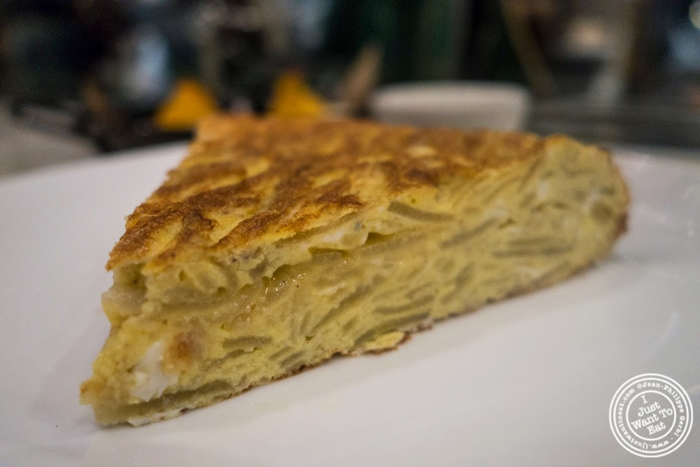 image of Spanish omelet at El Colmado at The Gotham West Market