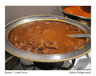 Image of Lamb Curry at Benares in NYC, New York