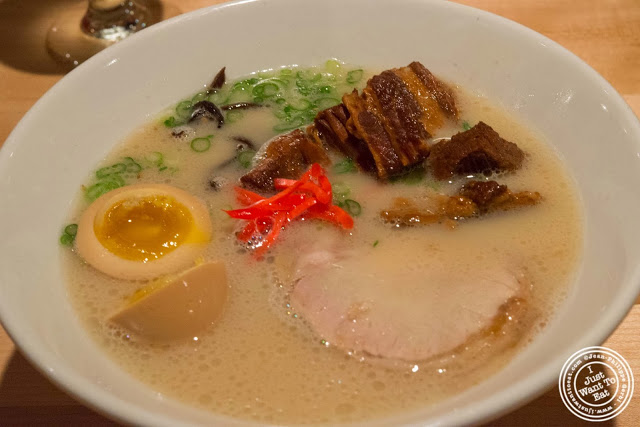 image of Shiromaru Hakata Classic at Ippudo West Side in NYC, New York
