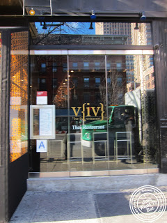 Image of Entrance of Viv in Hell's Kitchen - NYC, New York