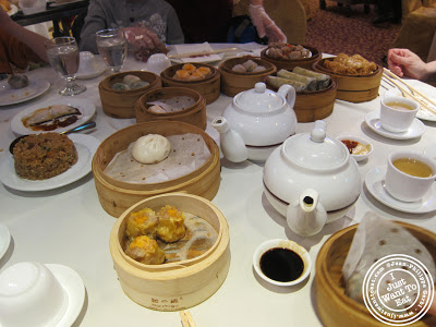 Image of Dim Sum at the Golden Unicorn in Chinatown NYC, New York
